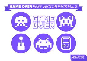 game over free vector pack vol. 2
