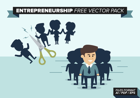 Entreprenörskap Gratis Vector Pack