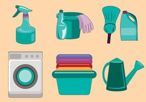 Spring Cleaning Vector