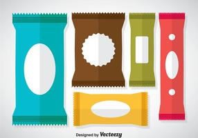 Colorful Sachet Vectors