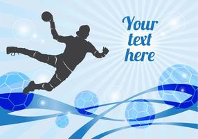 Gratis Handboll Player Vector