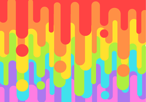 Free Rainbow Leak Vector