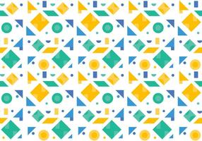 Free Green Pattern #4 vector