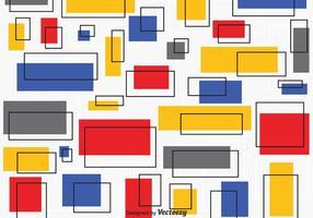 Bauhaus Vector Pattern gratuito