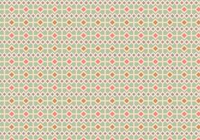Pastel Square Pattern Background vector