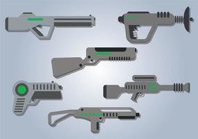 Vetor de arma laser