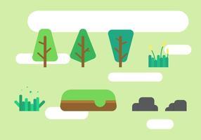 Nature libre et vecteurs d'arbre