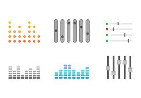 Free Sound Bars Vector #3