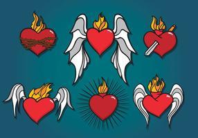 Heliga hjärtat vektor