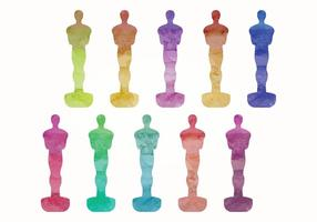Vector Oscar Statues