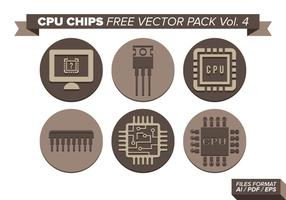 Cpu Chips Gratis Vector Pack Vol. 4