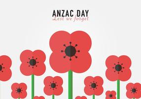 Pour ne pas oublier Anzac Background Vector