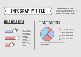 Outlined Entrepreneurship Infography Vector