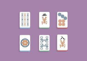 Vetor de Mahjong