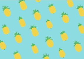 Ananas Vector Pattern