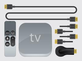 TV Streaming Device Vectors