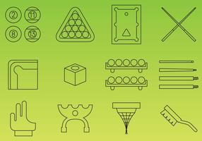 Billiard Icons