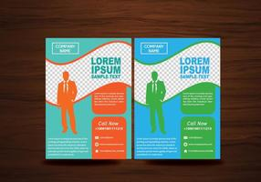 Vektor Broschyr Flyers Design Layout Vector