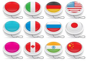 Yoyo Vectors with Flagss