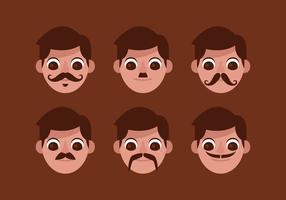 Vector Mustache Options