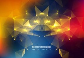 Free Colorful Polygon vector Background