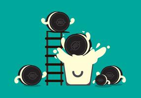 Free Oreo Vector Illustration #1