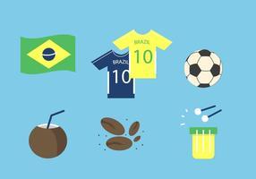 Brasilien Vektor