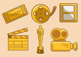 Cinematic Pictogram Vector