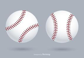 Kostenlose Vektor-Baseballs