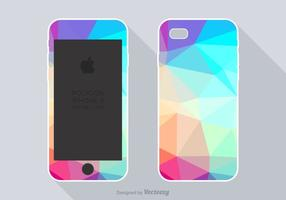 Gratis Polygon Phone Case Vector