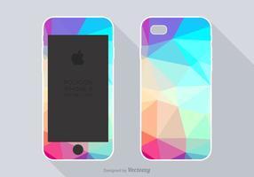Free Polygon Phone Case Vector