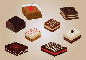 Vector de Brownie
