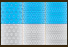 Bubble Wrap Pattern Vectors