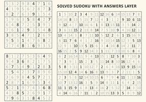 Sudoku opgelost