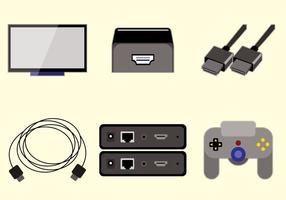 Vettore HDMI