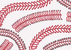 Vector de los lazos del béisbol
