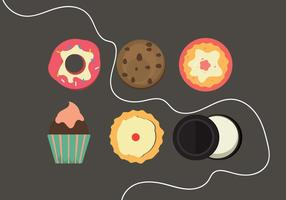 Gratis Oreo Vector Icon