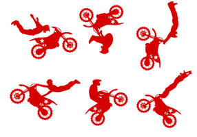 Gratis Dirt Bike Vector
