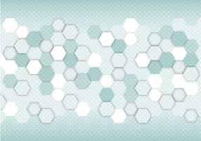 Free Abstract Hexagon Vector