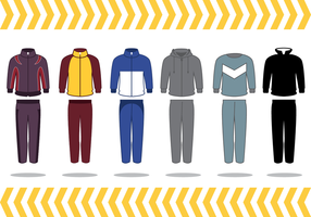 Free Track Suit Vector