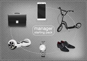 Manager Starter Pack Vector