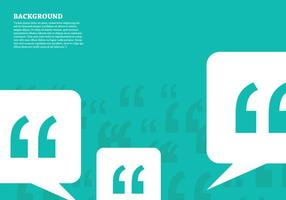 Quotation Mark Background vector