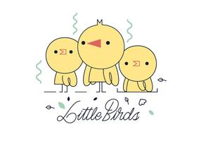 Gratis Little Birds Vector