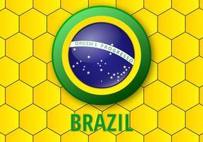 Free Brasilien Hintergrund Vektor