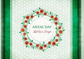 Fond Anzac Vector gratuit