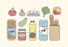 Comestibles vectoriales