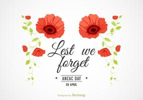 Free Vector Anzac Background