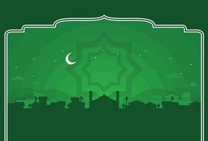 Vecteur ramadhan background