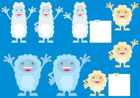 Cute Yeti Monsters