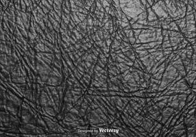 Realistische zerknitterte schwarze Pappe Vektor Textur